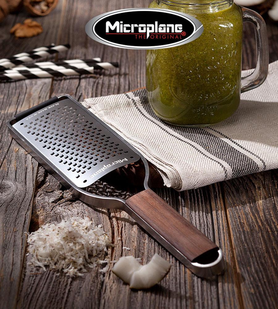 Thomas Buehner Shop – Microplane Küchenreibe mit grober Klinge