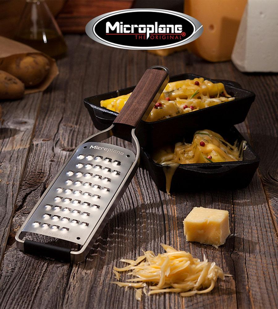 Thomas Buehner Shop – Microplane Küchenreibe mit sehr grober Klinge